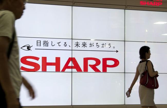 Tập đoàn Sharp thông báo thua lỗ hơn 17 triệu USD trong quý 2