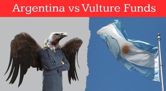 """Argentina gian nan cuộc chiến chống các """"quỹ kền kền"""""""