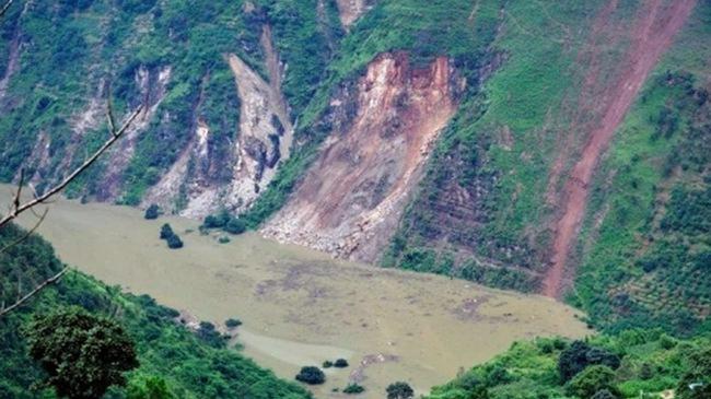 Vân Nam sau động đất là nước dâng
