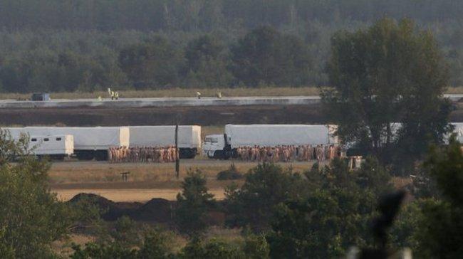 Đoàn xe cứu trợ tới Ukraine đột ngột chuyển hướng