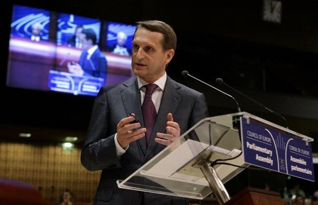 Thụy Sĩ hủy lời mời Chủ tịch Duma quốc gia Nga sang thăm