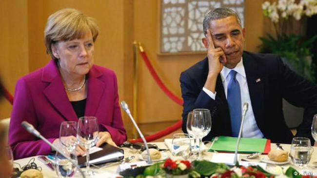 Obama, Merkel cảnh báo tăng cường trừng phạt Nga
