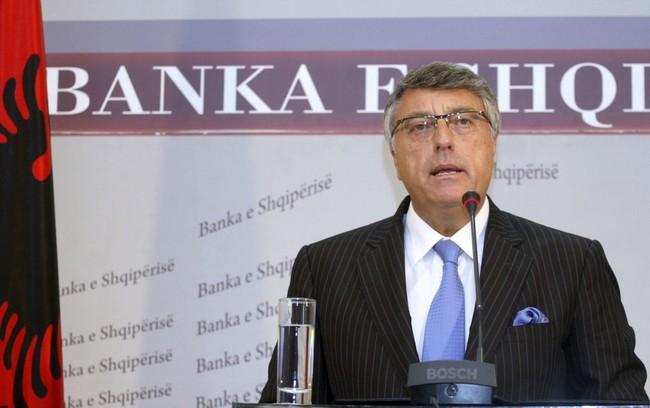 """Thống đốc Ngân hàng Albania bị bắt do nghi ngờ """"thụt két"""""""