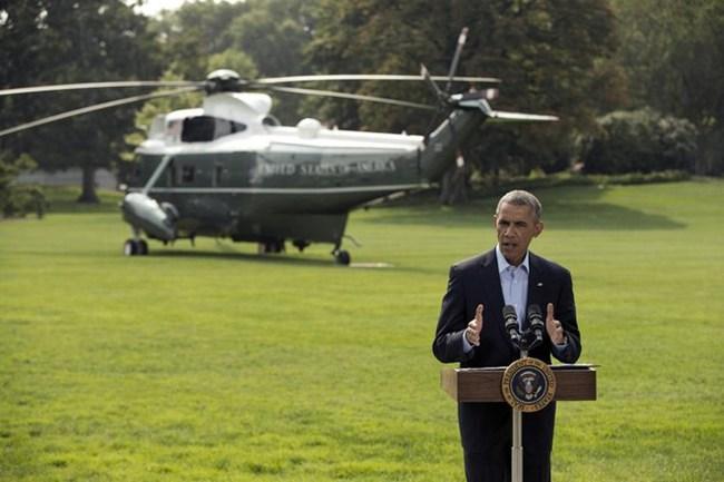 """Tổng thống Mỹ cam kết truy quét IS tới """"cùng trời cuối đất"""""""
