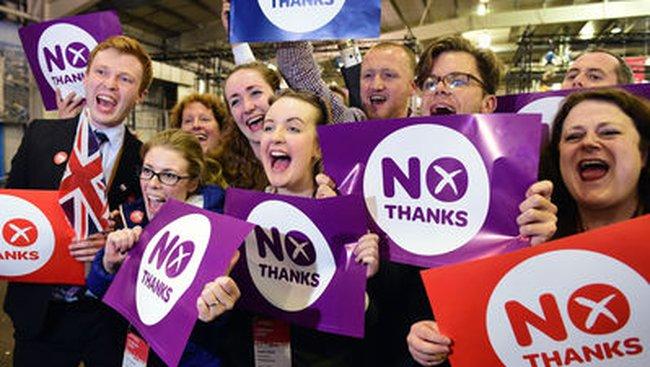 Chứng khoán châu Âu cao nhất 6 năm sau cuộc bỏ phiếu ở Scotland