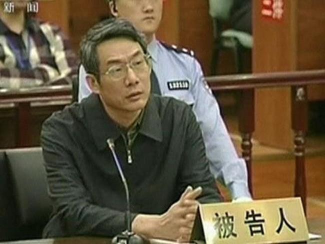 Tòa án Trung Quốc xử một quan chức nhận hối lộ 5,8 triệu USD