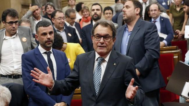 Catalonia kêu gọi trưng cầu dân ý việc rời Tây Ban Nha