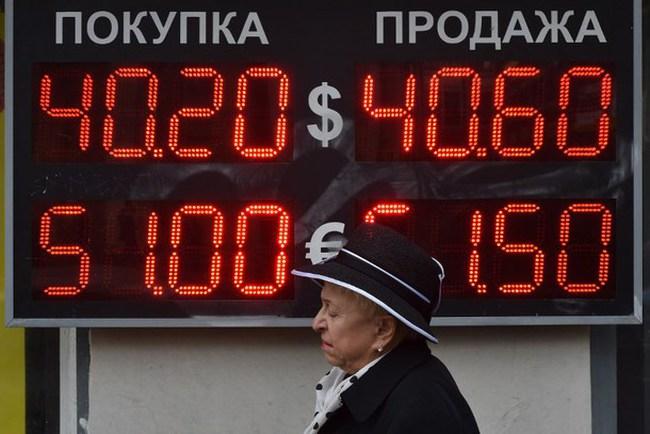 Đồng Ruble Nga lập đáy mới