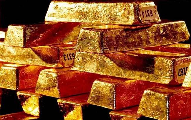 Nga tăng mạnh lượng vàng nắm giữ