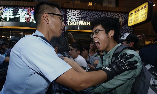 Cảnh sát Hong Kong bắt giữ hàng chục người biểu tình