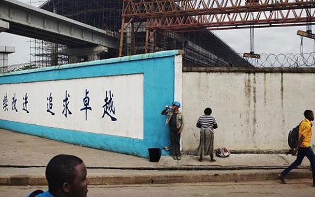 Trung Quốc rót 12 tỷ USD xây đường sắt ở Nigeria