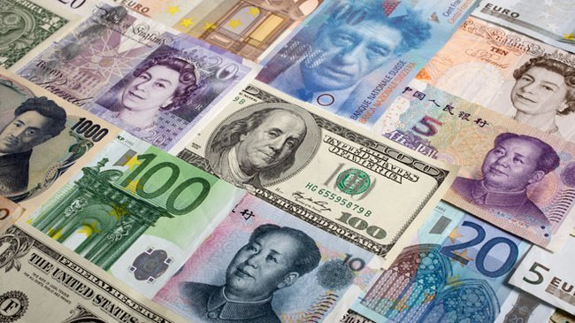 Những kỷ lục thấp và cao trên thị trường tiền tệ thế giới tháng 11