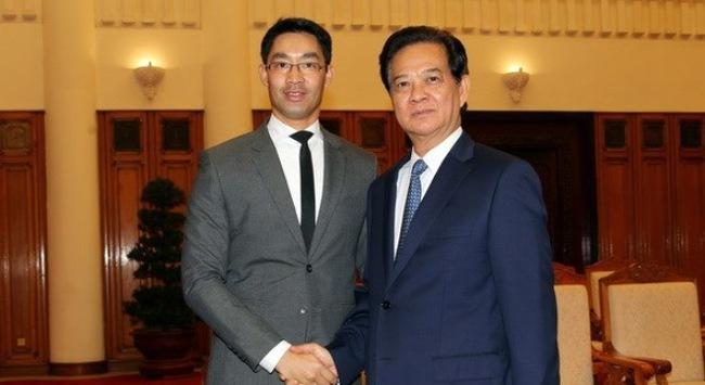 Chuyến về thăm Việt Nam lần thứ 4 của Giám đốc điều hành WEF Phillip Roesler