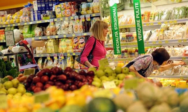 Chi tiêu của các gia đình Italy xuống mức thấp nhất kể từ 1999