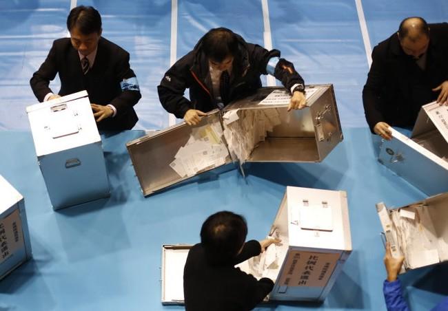 Thủ tướng Nhật Shinzo Abe thắng cử Hạ viện