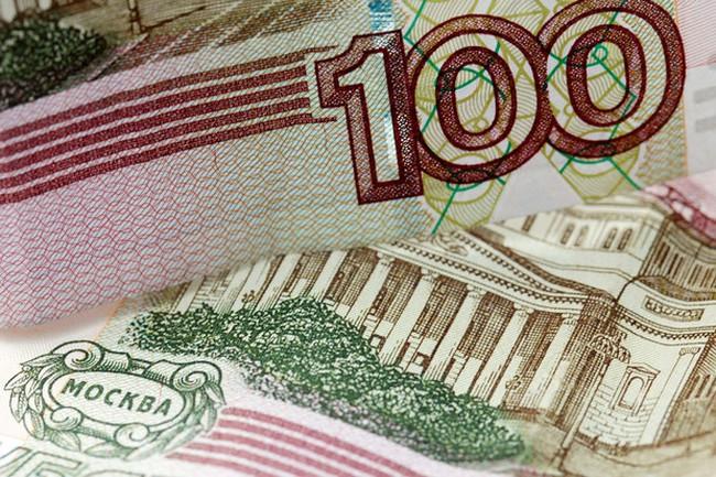 Đồng nội tệ Nga lần đầu tiên vượt qua mốc 60 ruble/USD