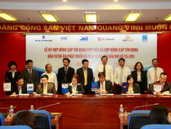 5 ngân hàng cấp tín dụng hợp vốn 140 triệu USD cho PVEP