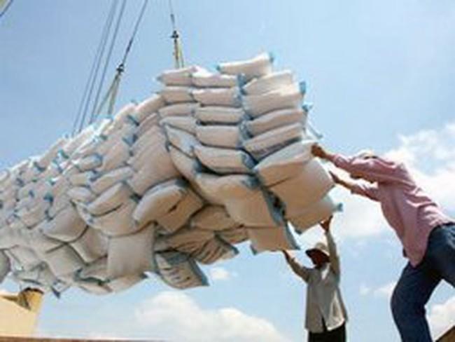 Xuất khẩu gạo đột ngột giảm