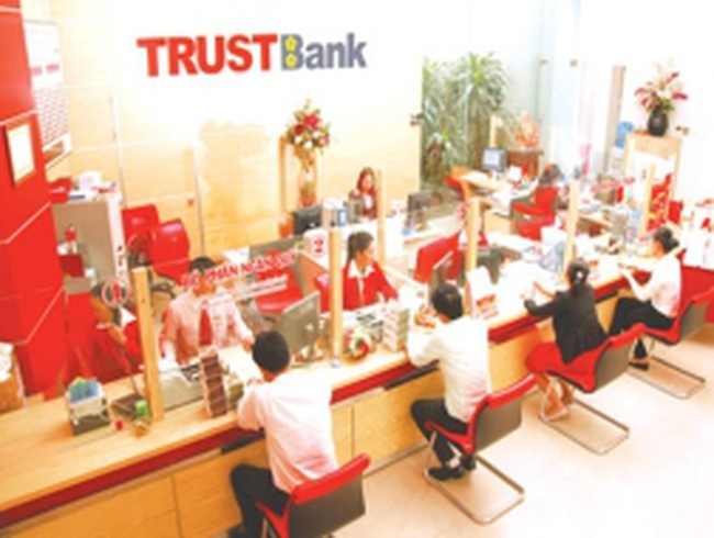 Ngày 15/1/2013: TrustBank sẽ tổ chức ĐHCĐ tại trụ sở của Tập đoàn Thiên Thanh