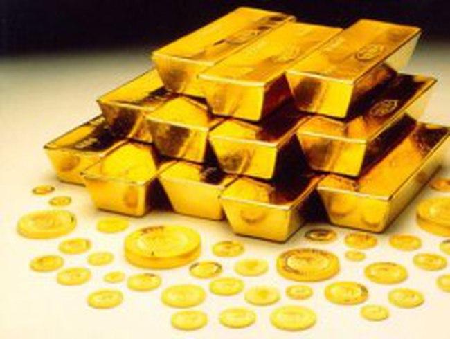 Giá vàng có hai ngày giảm liên tiếp mạnh nhất kể từ tháng 8