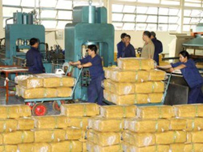 Nhu cầu nhập khẩu cao su của Trung Quốc tăng mạnh