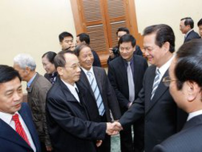 Thủ tướng Nguyễn Tấn Dũng: Kiên quyết ngăn chặn lợi ích nhóm