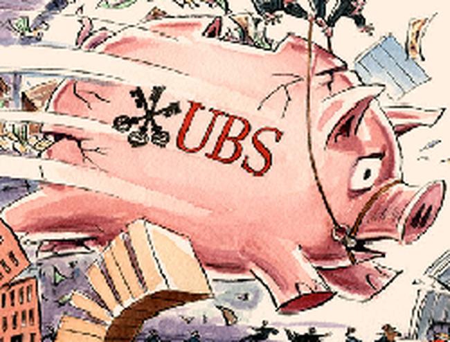 UBS yếu kém trong quản lý rủi ro