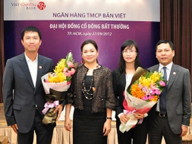 Ngân hàng Bản Việt tổ chức thành công ĐHCĐ bất thường năm 2012