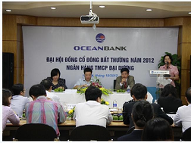 OceanBank tổ chức Đại hội đồng cổ đông bất thường