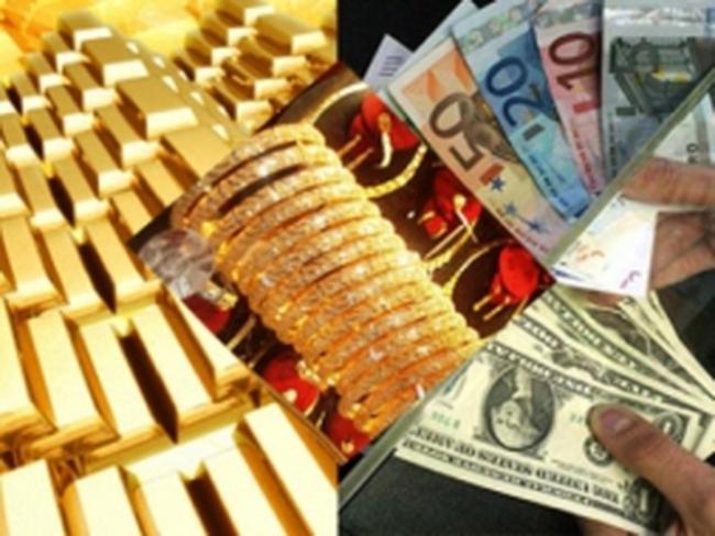 Tiếp tục rớt mạnh, giá vàng còn chưa đến 46,6 triệu đồng/lượng
