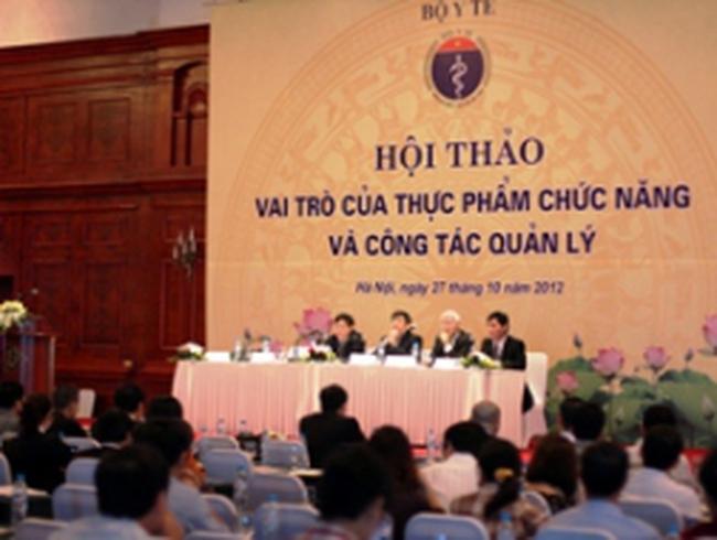 Việt Nam có khoảng 10.000 sản phẩm thực phẩm chức năng