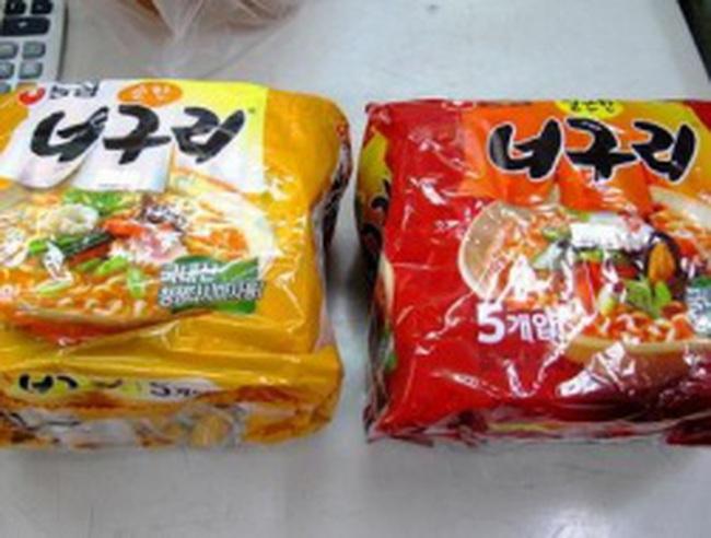 Các DN phải gửi mẫu mì Hàn Quốc để xét nghiệm