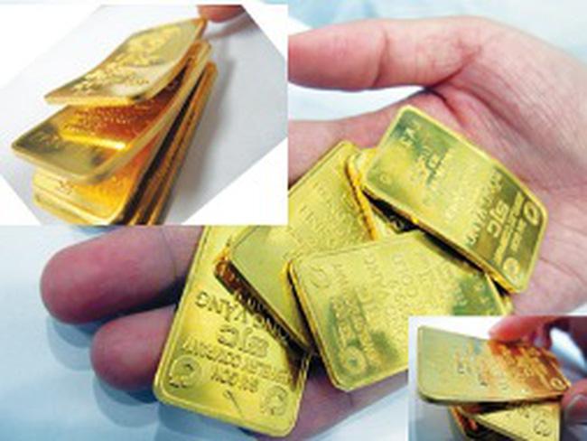 Công ty SJC được cấp thêm hạn ngạch gia công 40.000 lượng vàng móp méo
