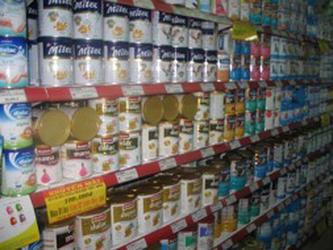 Sữa ngoại lại tăng giá