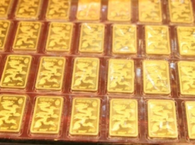 Đầu tuần, giá vàng tăng 130 nghìn đồng/lượng