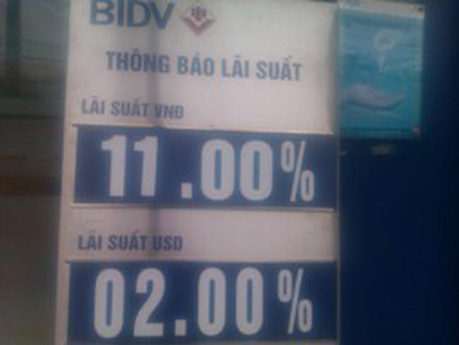 Đến lượt BIDV đưa lãi suất huy động kỳ hạn dài về 11%/năm