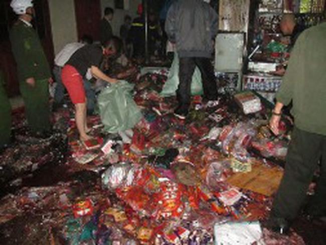 Cháy tại chợ Đồng Tâm, Hà Nội