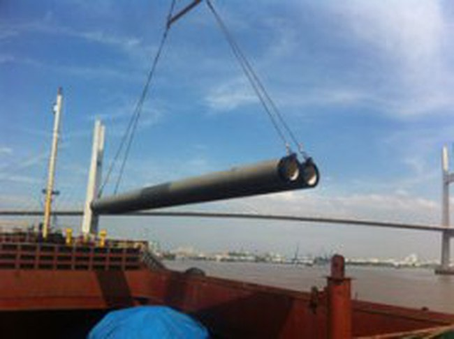 Việt Nam xuất khẩu cọc ống bê tông sang Nhật
