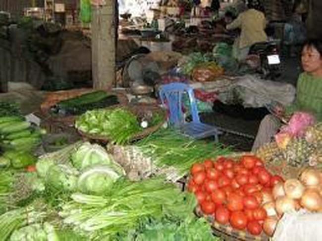 Hà Nội: Giá thực phẩm tăng mạnh