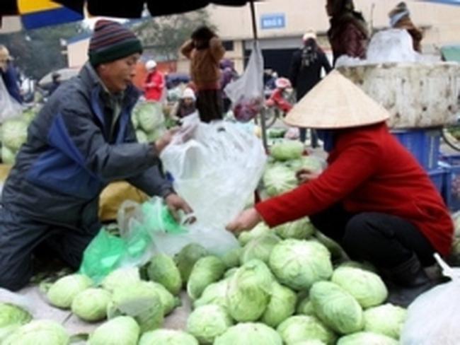 Hà Nội xây dựng 5 chợ đầu mối nông sản tổng hợp