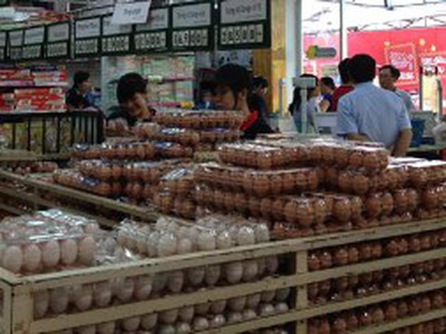 Tăng giá trứng bình ổn