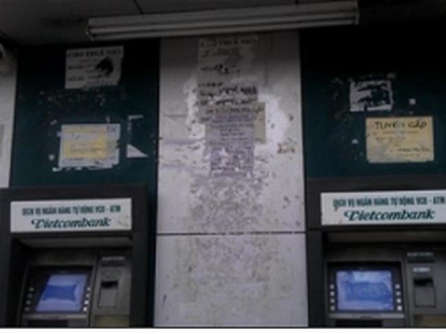 ATM nhếch nhác, xuống cấp vẫn ... thu phí