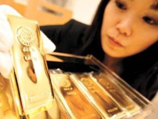 Hồng Kông xuất sang Trung Quốc lượng vàng cao kỷ lục trong năm 2012