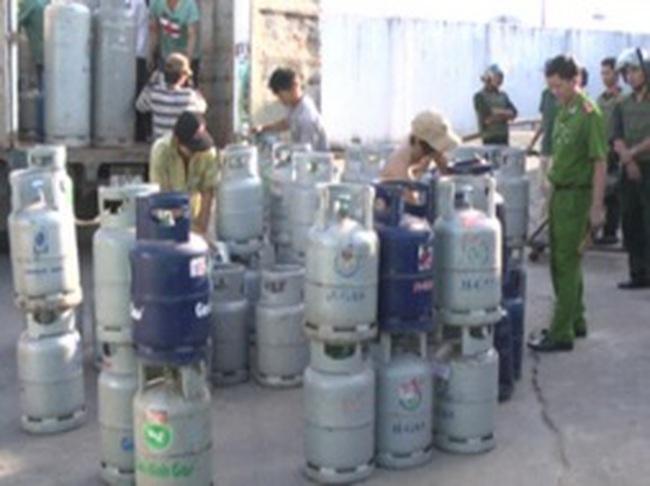Bắt chủ doanh nghiệp sản xuất gas giả