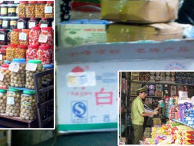 Bánh mứt kẹo không có nguồn gốc: Những món hàng quen mà sợ