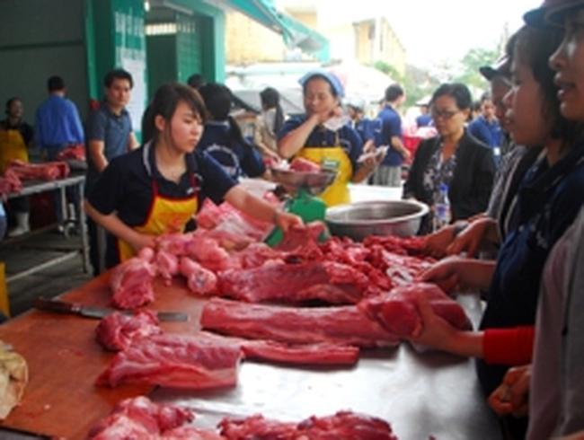 Đà Nẵng: Mỗi người không được mua quá 5kg thịt heo bình ổn giá