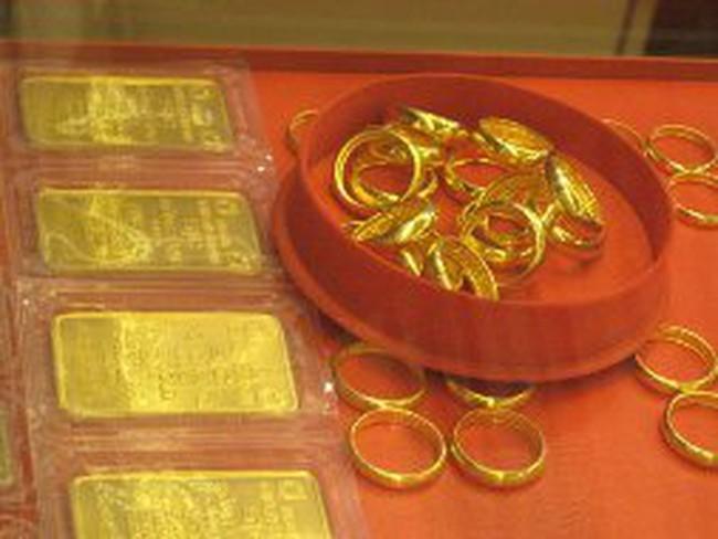 NHNN mua bán vàng miếng thông qua các đơn vị kinh doanh