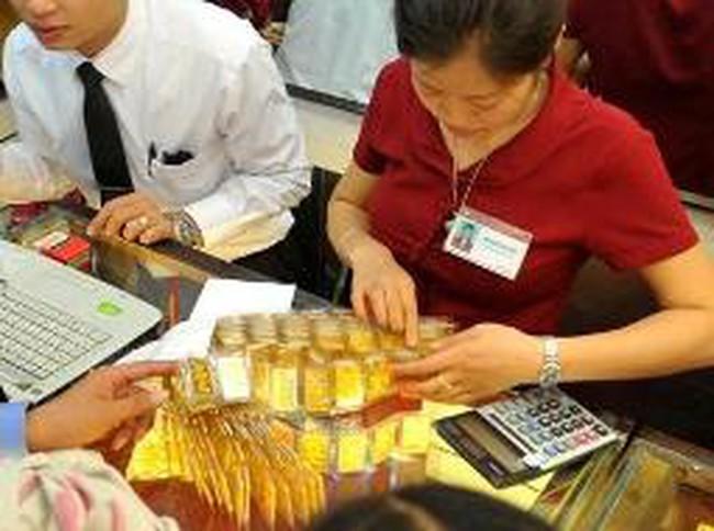 Thị trường vàng khai xuân vào mồng 6 tháng Giêng