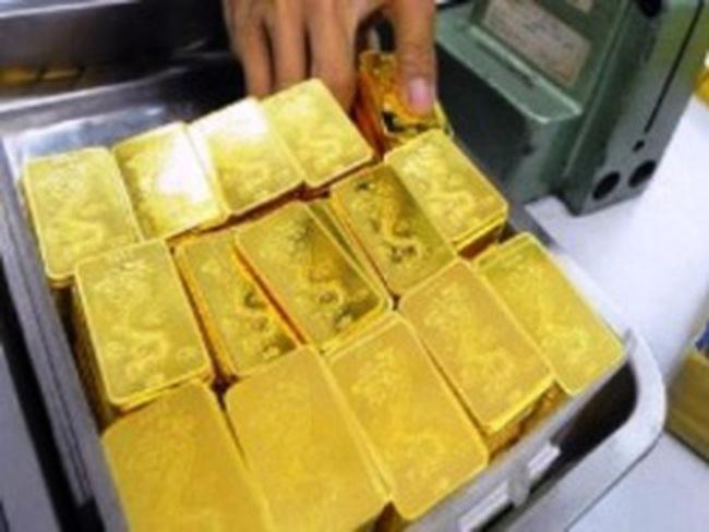 Mất gần 500 nghìn đồng, giá vàng xuống 44,7 triệu đồng/lượng