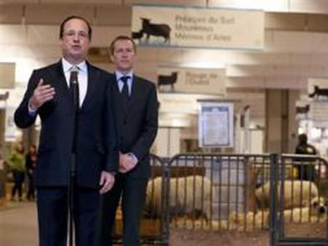 """Tổng thống Hollande """"chấn chỉnh""""…thịt bò Pháp"""